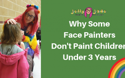 Why Some Face Painters Don't Paint Children Under 3 Years Old