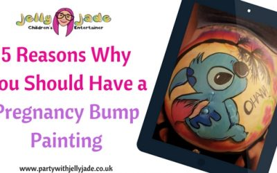 5 Reasons Why You Should Have a Pregnancy Bump Painting
