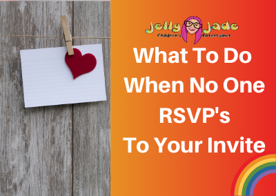 What To do When No One RSVP's To Your Invite